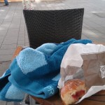 Nicht nur gut gegen Plapperkäfer: Das Handtuch
