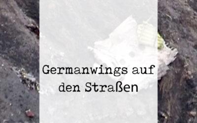 Germanwings auf deutschen Straßen
